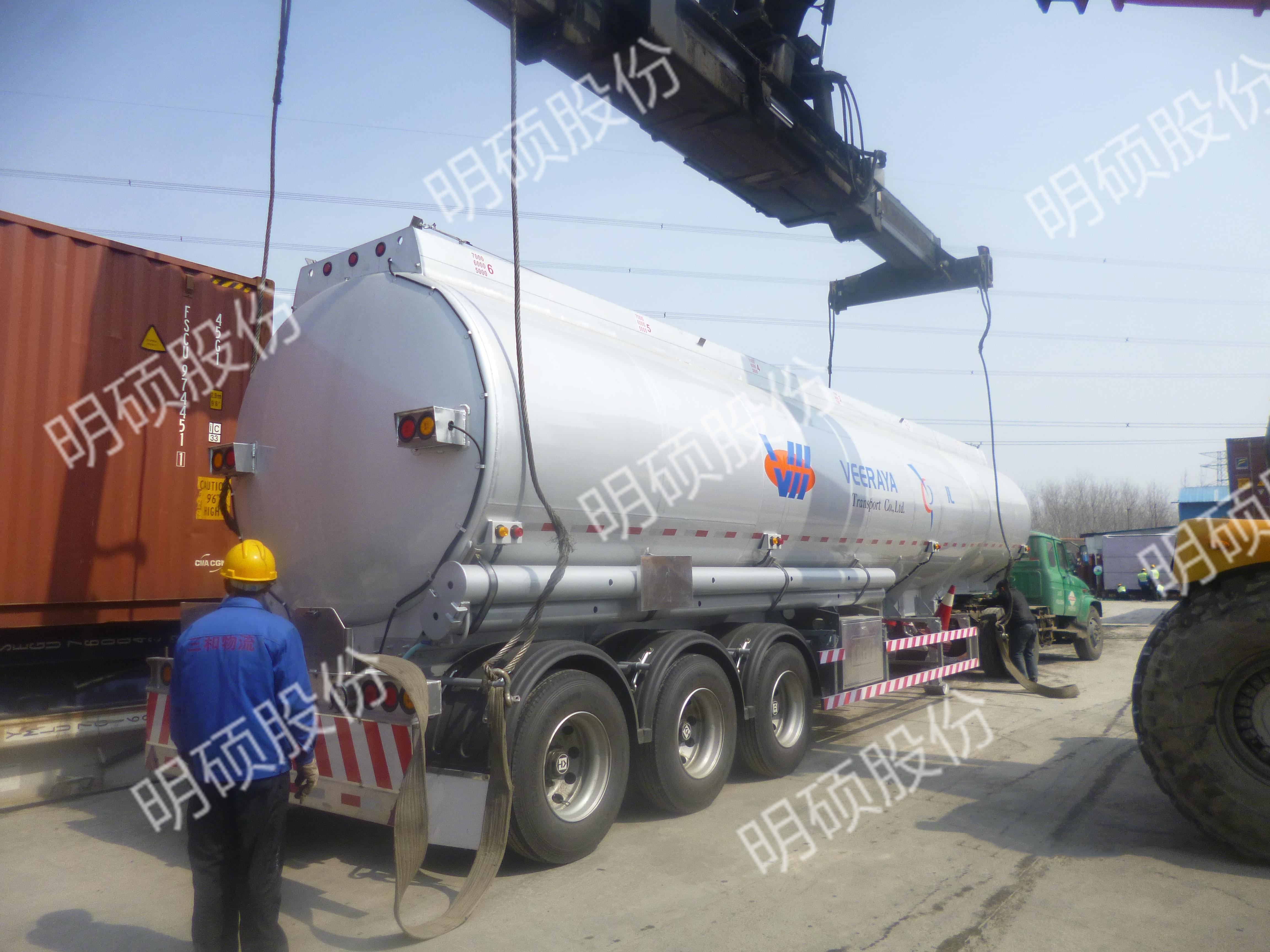 油罐车装箱解决方案