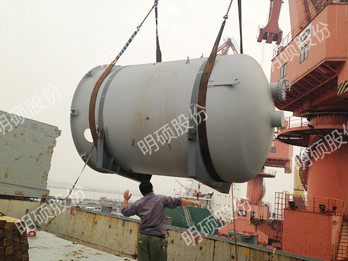 大型冶金设备装船解决方案