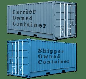 承运人集装箱(COC)和托运人集装箱(SOC)有什么区别?