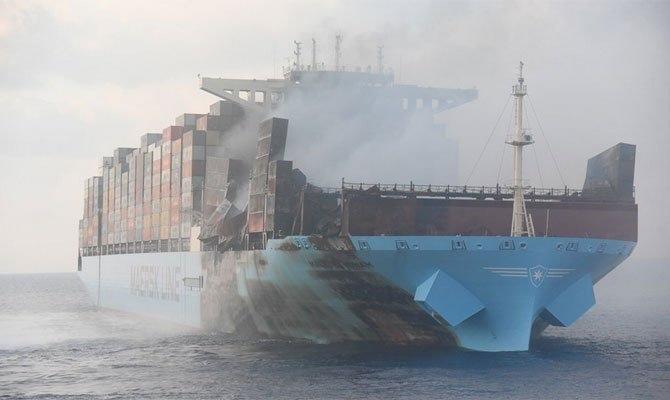 马士基火灾:Maersk Honam船上发现三名失踪船员遗体