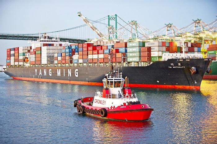 亚博_关税要挟中国和美国7%的集装箱进口和出口