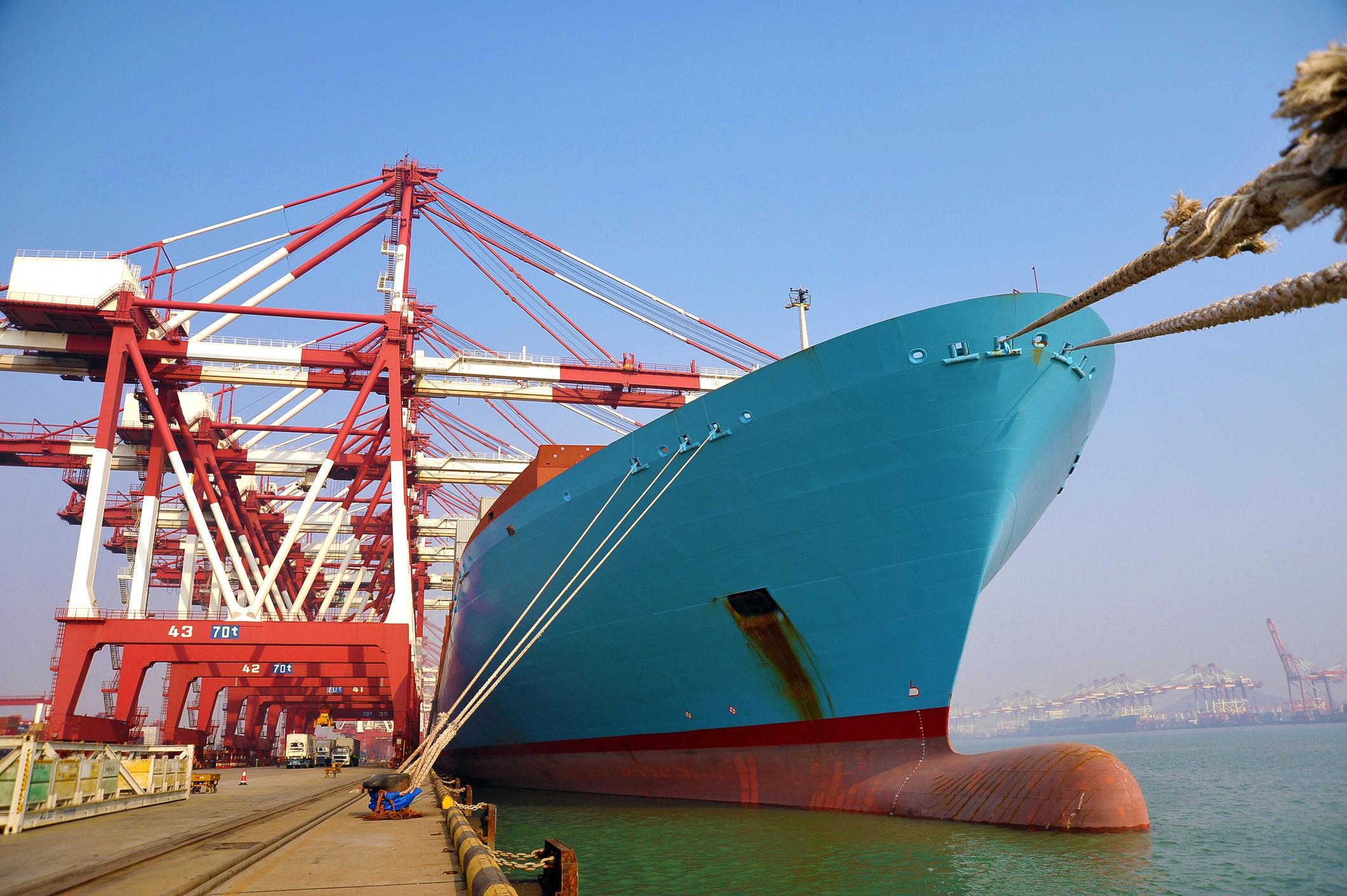 亚博_马士基扩年夜了中国到地中海口岸的在线订舱平台
