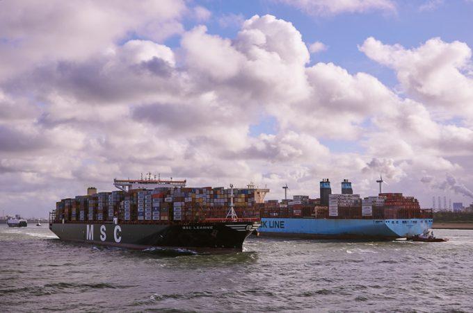 马士基可能会失去全球最大集装箱海运公司的桂冠